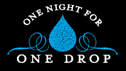 One Night for One Drop Postponed!