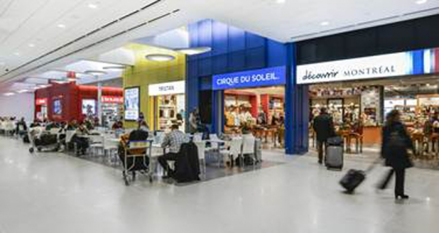 New cirque boutique at dorval airport - Boutique du grand cirque ...