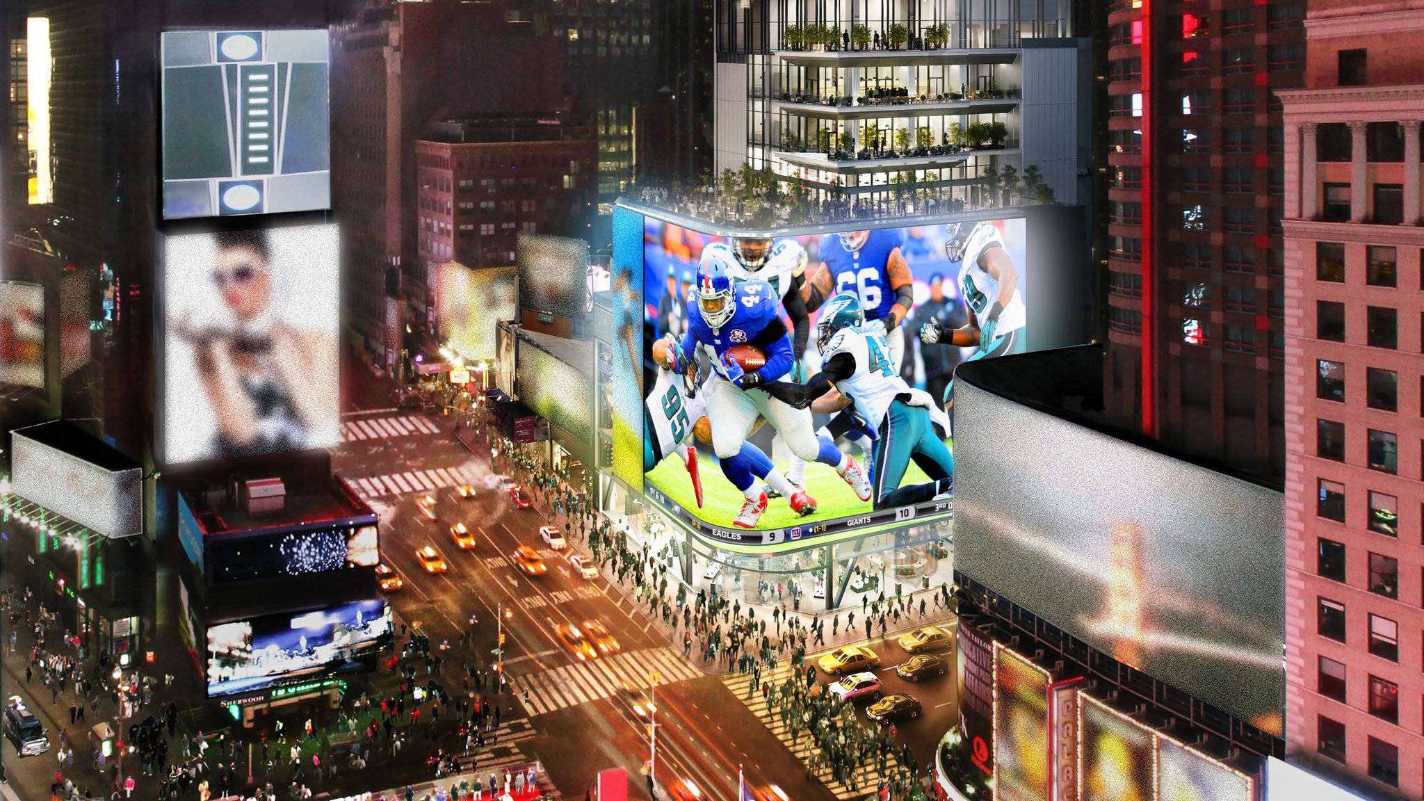 Cirque Names President for NFL Experience Times Square 28f85647c1948